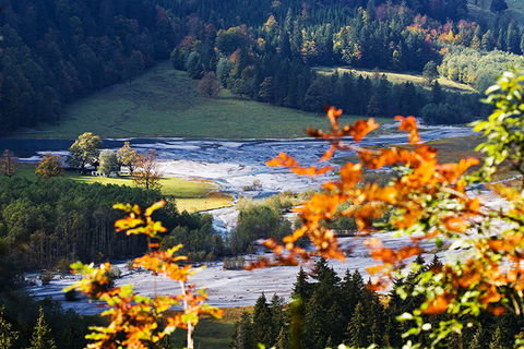 Zoom: Herbst am Tschingelsee
